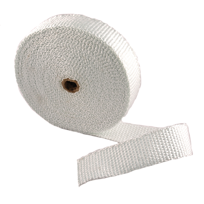 "Tan Exhaust Wrap Header Wrap Roll Thick 1//8/"" X 1/"" X 50/' High Temperature Heat"